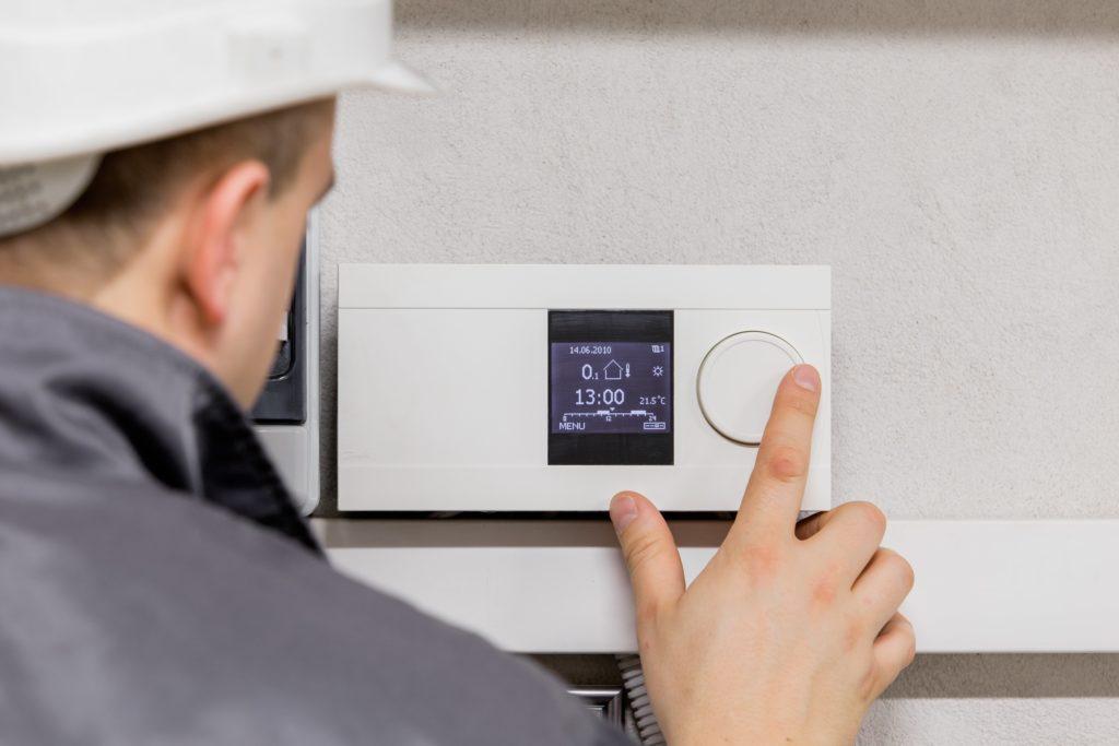 adjusting heating system