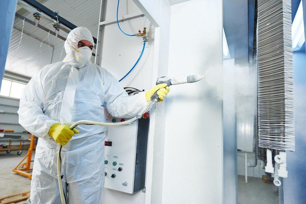 industrial metal coating