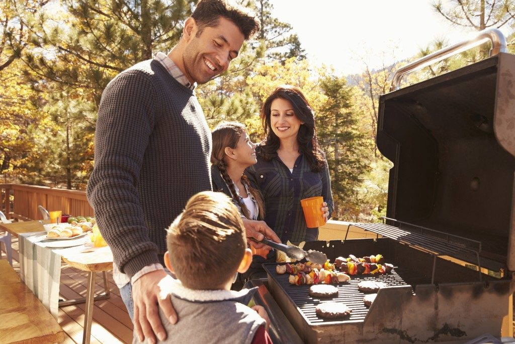 Family Grilling