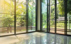 Glass doors and windows