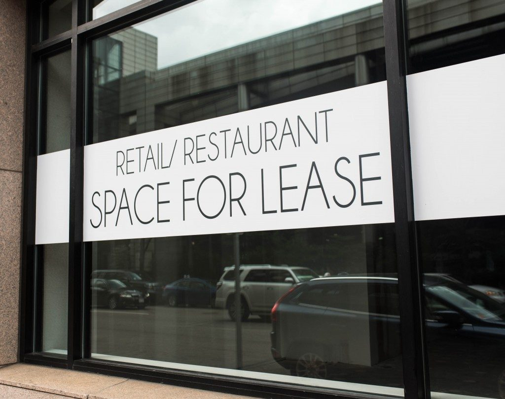 Commercial property space for lease