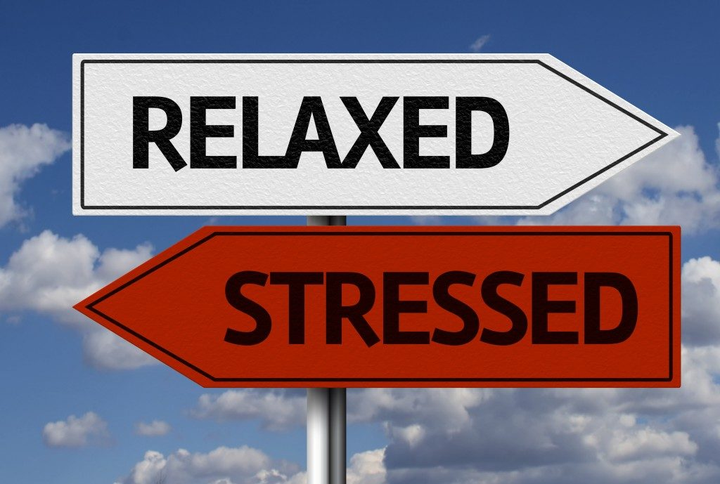 relaxed or stressed options