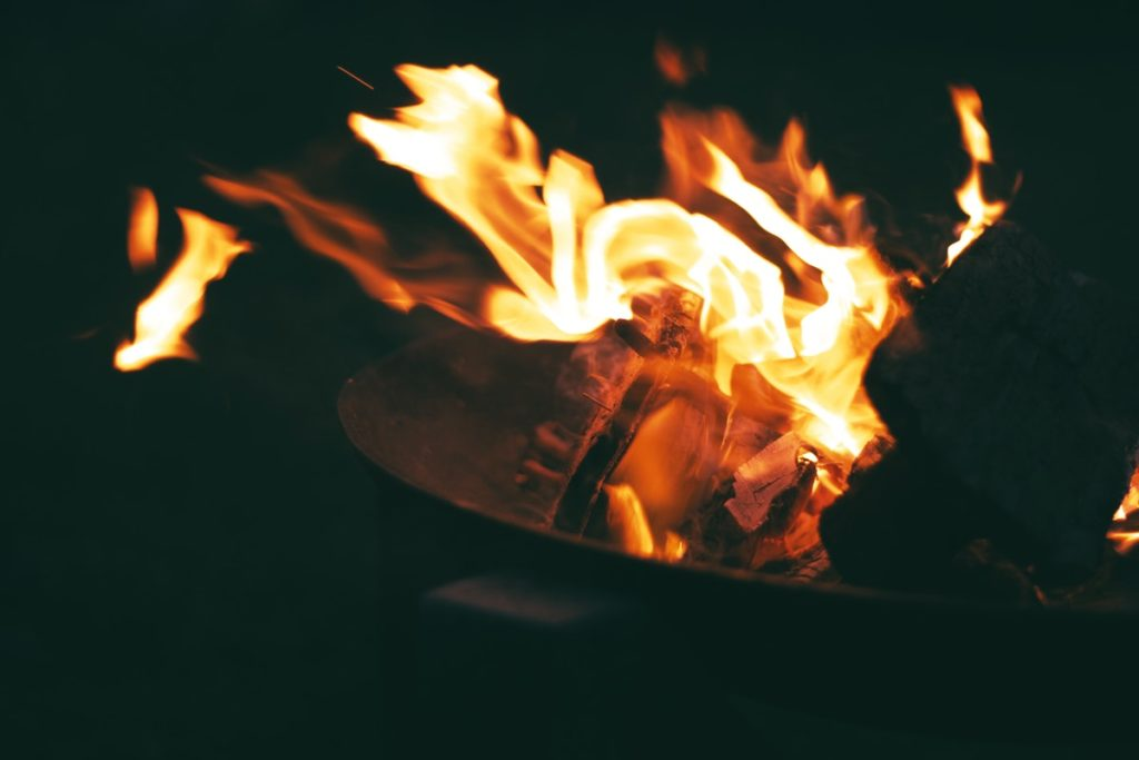 Fire closeup