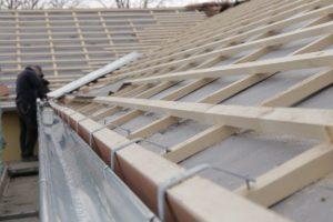 man doing roofing job
