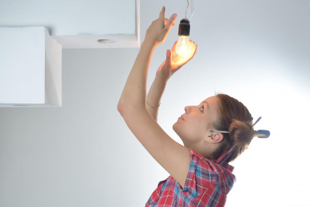 fixing light