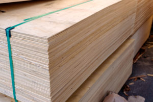 pile of plywood